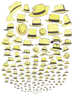 Dick Tracy Book 3 (film adaptation), (His yellow hat)